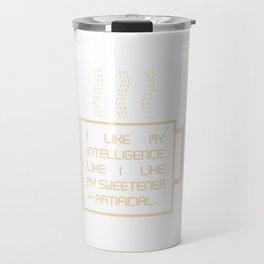 Artificially Sweet Travel Mug