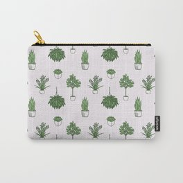 House Plants Pattern Carry-All Pouch