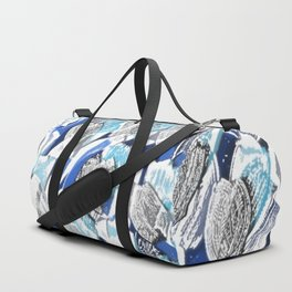 Flower Garden 4 Moonlight Duffle Bag
