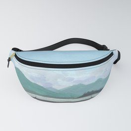 SITKA SOUND 03, Sitka Travel Sketch by Frank-Joseph Fanny Pack