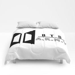 BTS ARMY Logo Comforters
