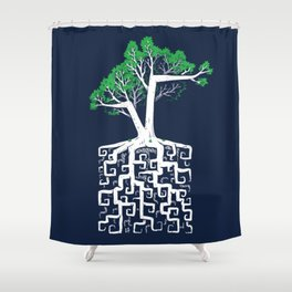 Square Root Shower Curtain