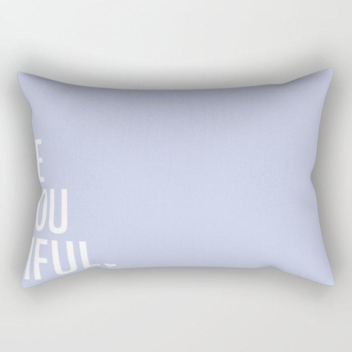 Be(you)tiful Rectangular Pillow