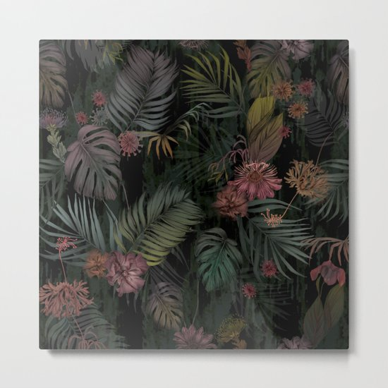 Tropical Iridescence Metal Print
