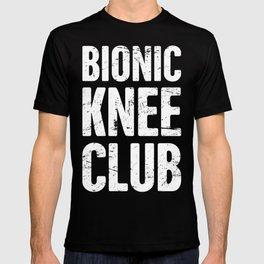Bionic Knee Club | Knee Surgery Design T-shirt