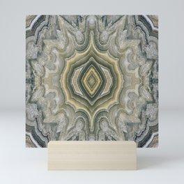 Lace Agate Mini Art Print