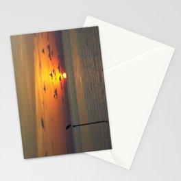 Maldivian Sunset Stationery Cards