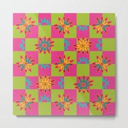 Paracas flowers I Metal Print