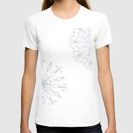 Cobalt Blue color scheme T-shirt