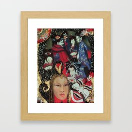 The Fan Club    Framed Art Print