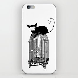 Cages iPhone Skin