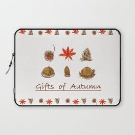 Gift of autumn watercolor painting Laptop Sleeve