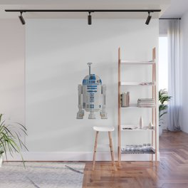 Fictional Robot/Droid Character Minimal Sticker Wall Mural