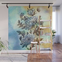 The Vintage Rose Wall Mural