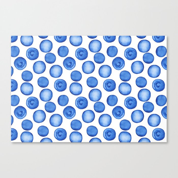 Blueberry dream Canvas Print