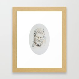 Statue of Spring II Framed Art Print