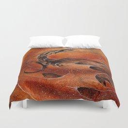 Sandstorm Dragon Duvet Cover