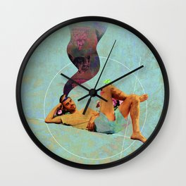 All Day I Dream About Kittens Wall Clock