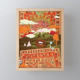 MORNING PSYCHEDELIA Framed Mini Art Print