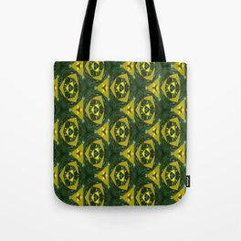 Electric Green Tote Bag