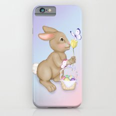 Brown Bunny and Basket iPhone 6s Slim Case