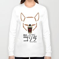 coyote Long Sleeve T-shirts featuring Coyote by Millennium Gorilla