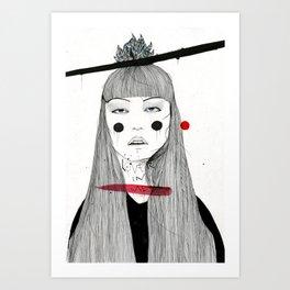 Lover in Me Art Print