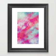 Rained Framed Art Print