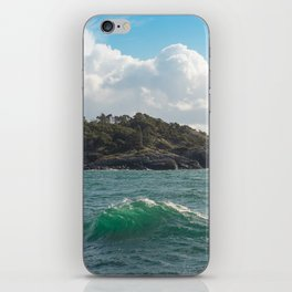 PORTRAIT OF SECRETARY ISLAND, BC TROPICS 2K16 iPhone Skin