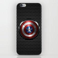 Captain Roger Shield iPhone & iPod Skin