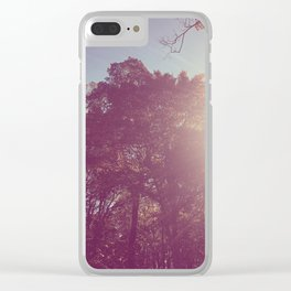 The Trees - Show Me the Way Clear iPhone Case