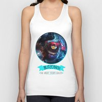 league of legends Tank Tops featuring League Of Legends - Blitzcrank by TheDrawingDuo