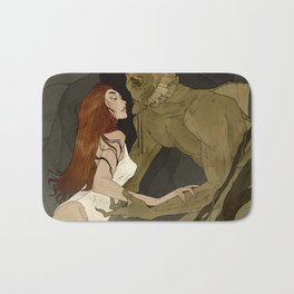 The Black Lagoon Bath Mat