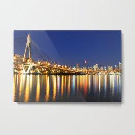 Sydney - Anzac Skyline Metal Print