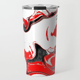 contradiction abstract digital painting Travel Mug
