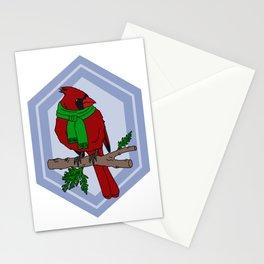 Chilly Cardinal Stationery Cards