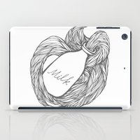 milk iPad Cases featuring MILK by UMPAPART