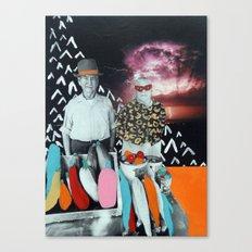 Veggie Stor Canvas Print