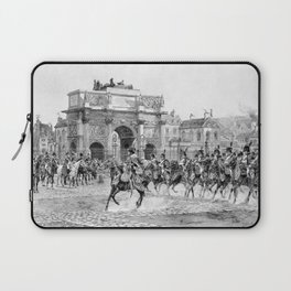 Napoleon I Reviewing His Troops Laptop Sleeve