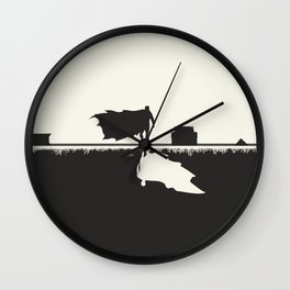 Day Versus Night Wall Clock
