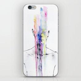 Man Art iPhone Skin