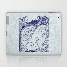 Whales & Waves Laptop & iPad Skin