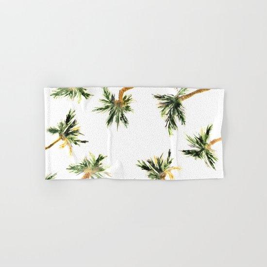Under the coconut palms Hand & Bath Towel