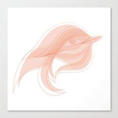 Draw the bird Canvas Print
