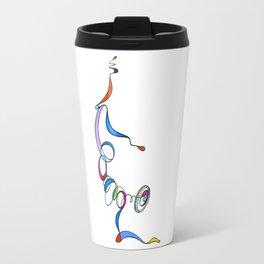 Yoga Scribble - Balance Travel Mug