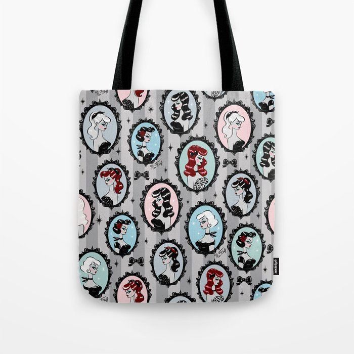Cameo Dolls Tote Bag
