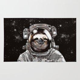 Astronaut Sloth Selfie Rug