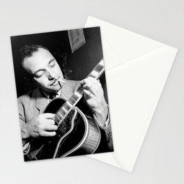 Django Reinhardt at the Aquarium Jazz Club Stationery Cards