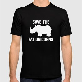Save The Fat Unicorns T-shirt