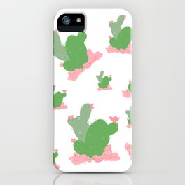 Cactus Love iPhone Case